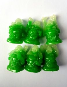 Boeddha beeldjes jade