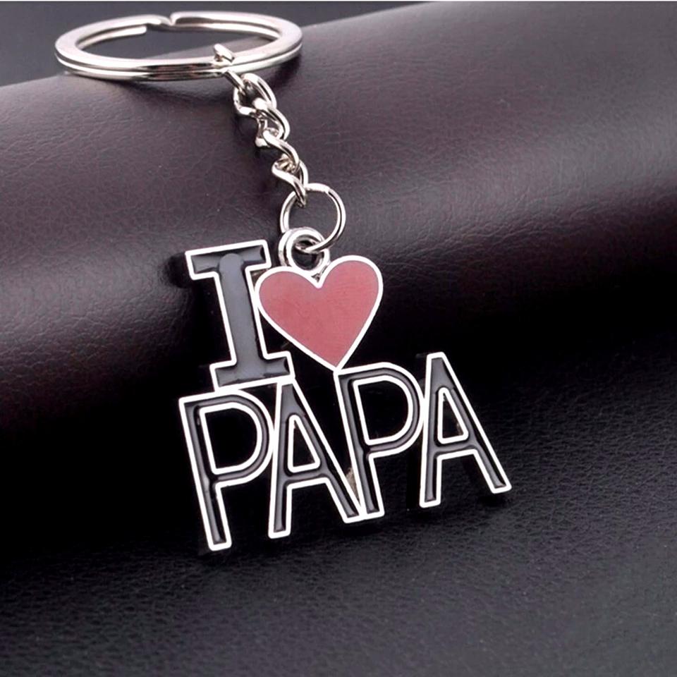 Vaderdag Sleutelhanger I Love Papa