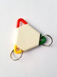 sleutelhanger driehoek