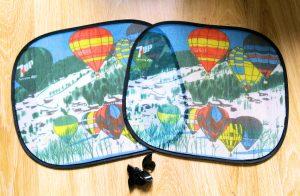 auto zon luchtballon