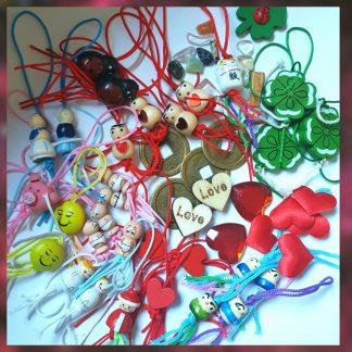 Gelukspoppetjes en andere symbolen van Geluk